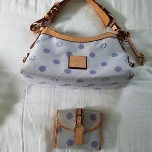 Dooney & Bourke purple bubble bag